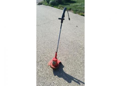Trimmer edger & lawn fertilizer