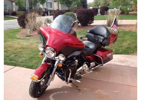 2012 HD Electra Glide Ultra Limited