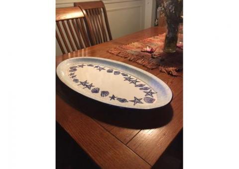 Large Williams Sonoma Seafood Platter