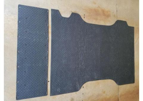 Ford Ranger Bed Mat and Tailgate Mat